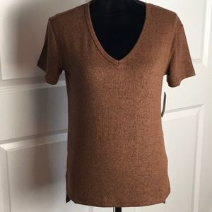 Abound Brushed Brown Tee